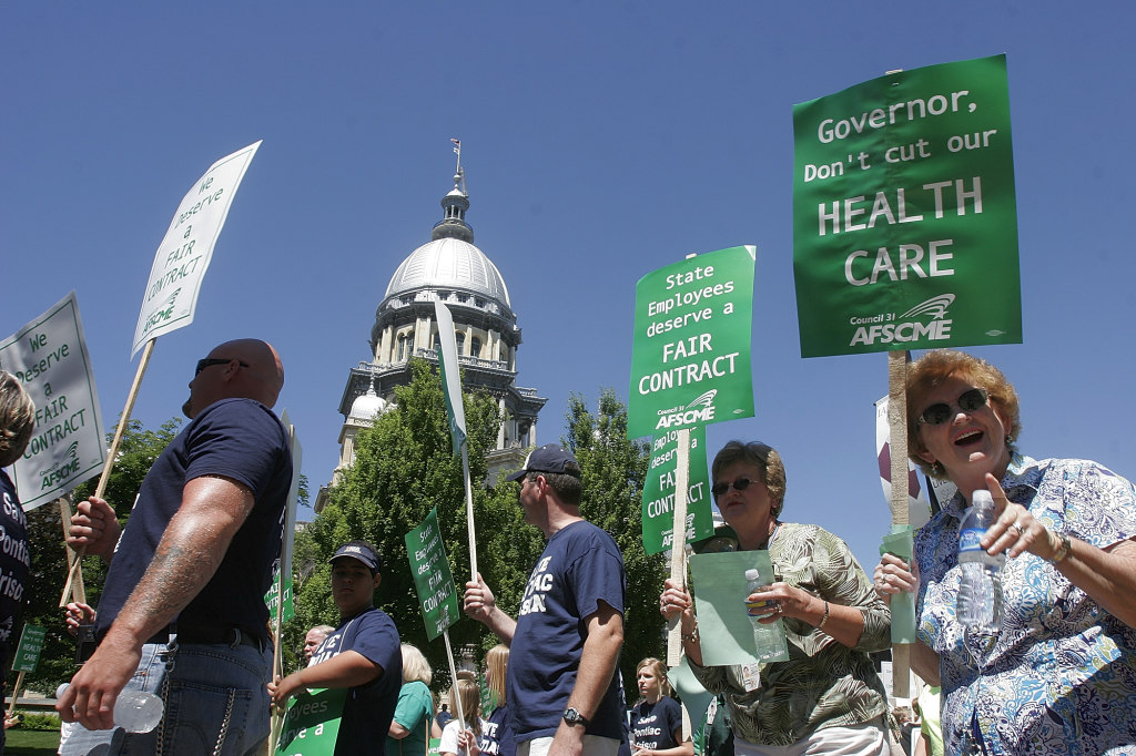 AFSCME Illinois State Employees Contract